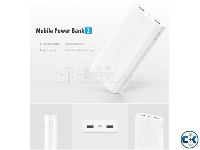 Xiaomi 20 000 mAh power bank_v2_01756812104_06hr delivery | ClickBD large image 0