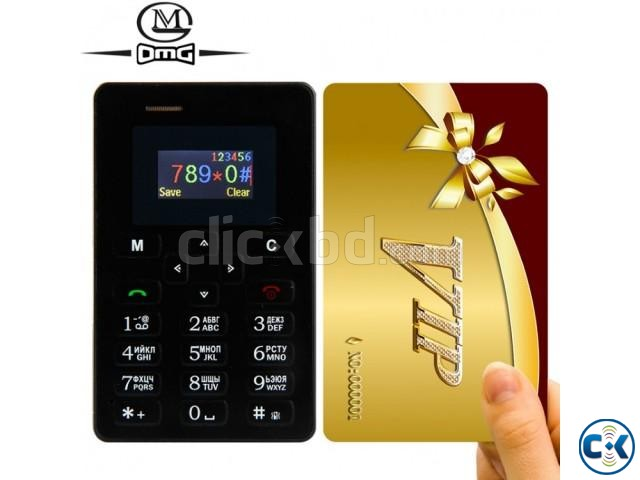 AIEK M5 Mini credit card Size Mobile Phone intact Box | ClickBD large image 0