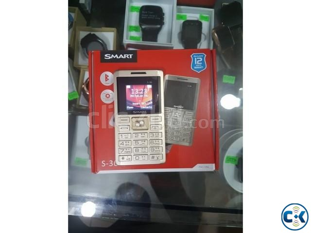 Smart S36 Card Phone With 1 year warranty intact Box | ClickBD large image 0