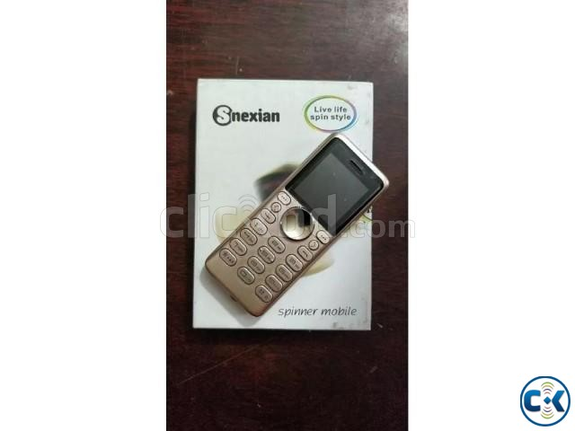 Snexian Rock dual sim spinner Phone intact Box | ClickBD large image 0
