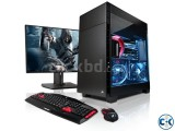 GAMING INTEL CORE i5 3.2G 1TB 4GB 17 LED