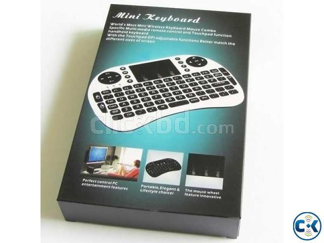 i8 Wireless Mini Keyboard with touchpad | ClickBD large image 4