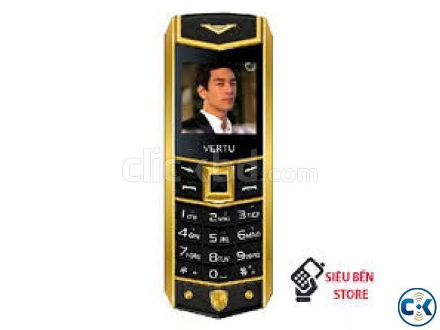 China Vertu A8 Dual Sim Metal Body exclusive Phone | ClickBD large image 0