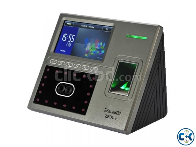 ZK iFace-800 Attendance Device Full Setup | ClickBD large image 0