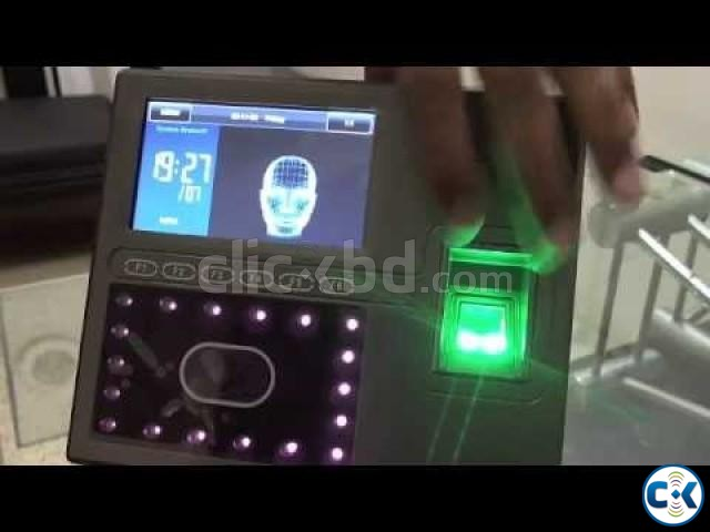 ZK iFace-800 Attendance Device Full Setup | ClickBD large image 1