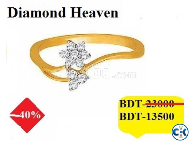 Diamond Ring 40 OFF | ClickBD large image 0