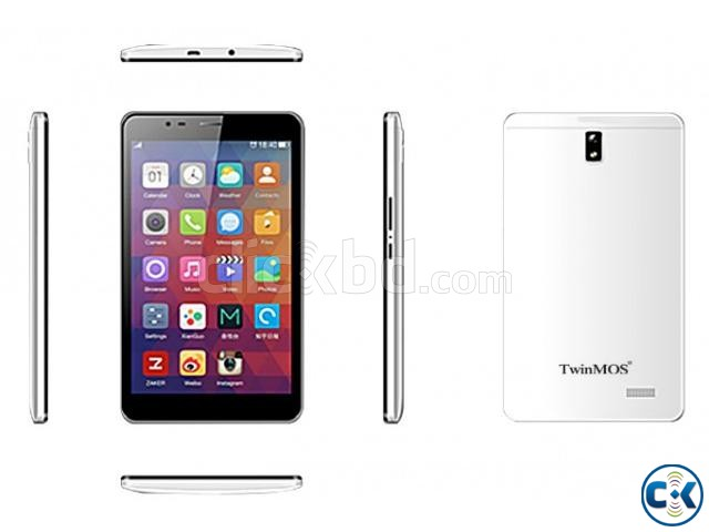 TwinMos MQ718G 2GB 16GB 3G Call 7 Tablet | ClickBD large image 0