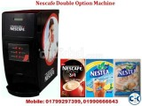 Nescafe Double hot option cafe machine