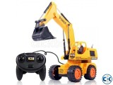 Remote Control Excavator Toy For Kids