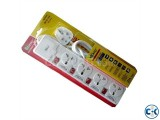 4 Socket Power Converter Multi Plug 3 Pin