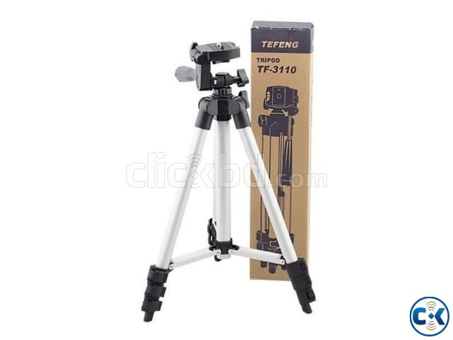 TF-3110 Portable Tripod for Mobile Camera | ClickBD large image 0