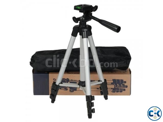 TF-3110 Portable Tripod for Mobile Camera | ClickBD large image 1