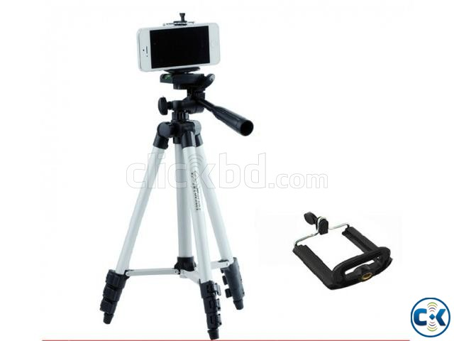 TF-3110 Portable Tripod for Mobile Camera | ClickBD large image 2