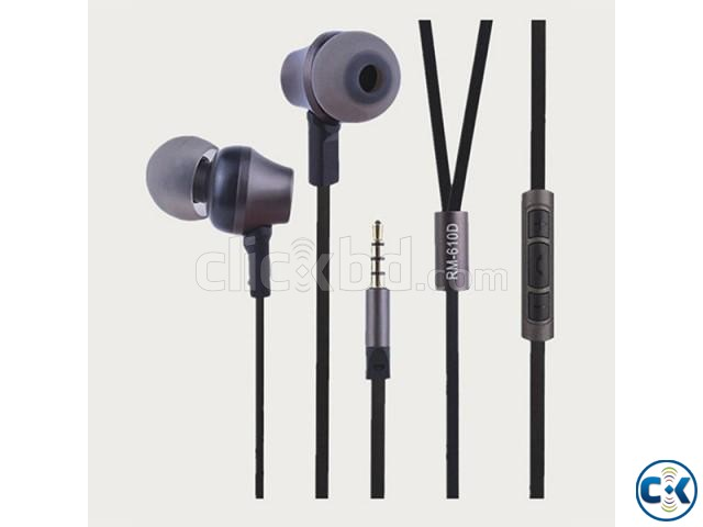 Remax RM-610D Earphone | ClickBD large image 0