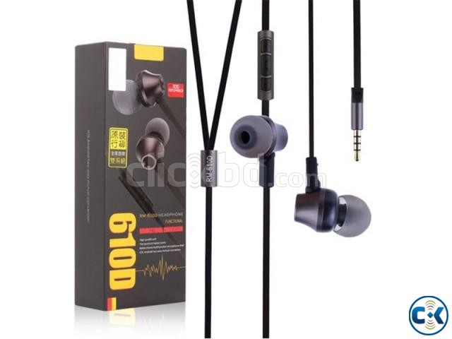 Remax RM-610D Earphone | ClickBD large image 1