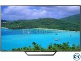 W650D SONY BRAVIA 55'' FULL SMART LED TV WIFI