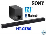Sony HT-CT80 - 80Watt Bluetooth Sound Bar With Subwoofer
