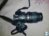 Nikon D3200 with 18-55mm Lens