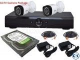 CCTV Camera Package 1 Year Replacement Garanty