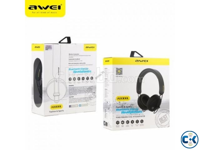Awei A800BL Sports Bluetooth Headphone with Microphone | ClickBD large image 1