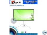 Dopah 70X70 Inch Tripod Projector Screen