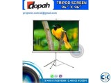 Dopah Tripod Projection Screen 96 by 96 inch