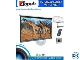 Dopah 96x96 Electric Motorized Projection Screen