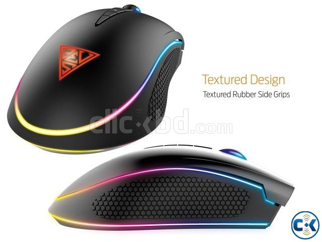 Gamdias ZEUS E1 Wired Optical Gaming Liighting Mouse | ClickBD large image 3