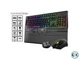 Gamdias GKC6011 ARES 7 Color Backlit RGB Membrane Gaming Com