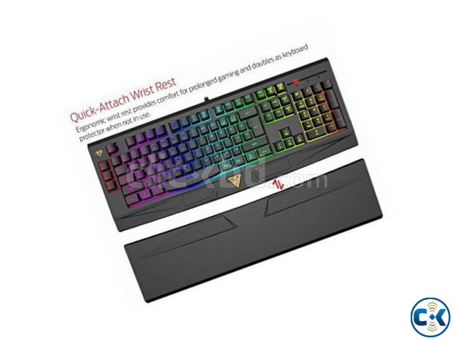 Gamdias GKC6011 ARES 7 Color Backlit RGB Membrane Gaming Com | ClickBD large image 1