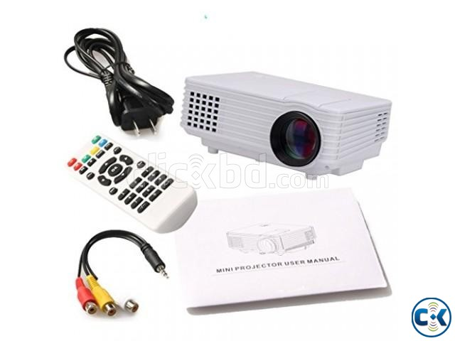 HD Mini TV Projector | ClickBD large image 0