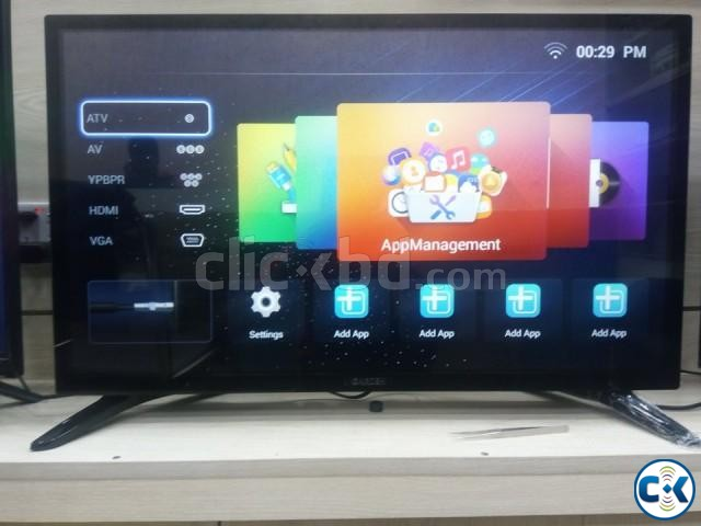 32 SMART DOUBLE GLASS HD LED TV | ClickBD large image 0