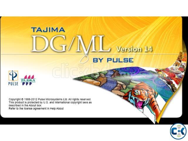 Tajima DGML By Pulse 14 Maestro Work Windows All System