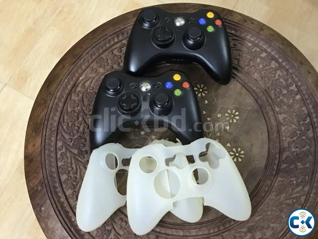 Xbox 360 500 GB double controller real | ClickBD large image 3