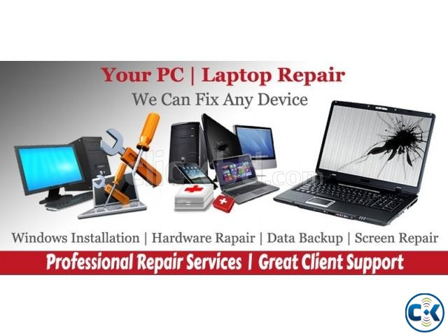Computer Laptop Home Service Repair | ClickBD large image 0