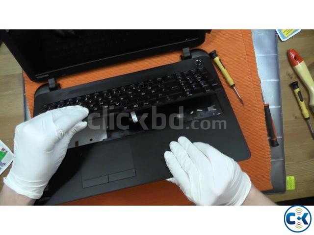 Laptop Keyboard Battery Adapter Display Replace | ClickBD large image 0