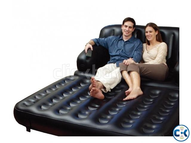5 in 1 Air-O-Space sofa cum Bed | ClickBD large image 2