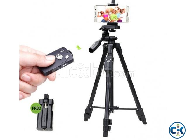 YUNTENG VCT-5208 Tripod With Remote Control | ClickBD large image 0