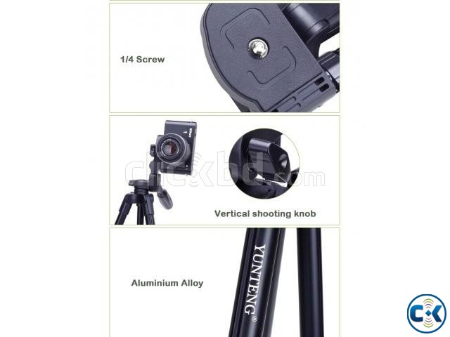 YUNTENG VCT-5208 Tripod With Remote Control | ClickBD large image 2