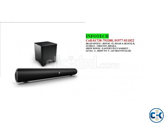 JBL Cinema SB450 4K Ultra-HD Soundbar with Wireless Subwoofe | ClickBD large image 1