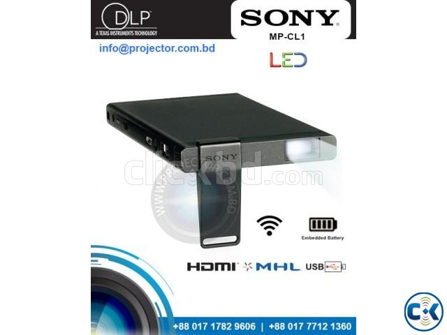 Sony MP-CL1 Pico Laser Mobile Projector | ClickBD large image 0