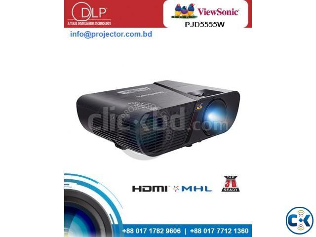 Viewsonic PJD5555w DLP WXGA Multimedia Projector | ClickBD large image 0