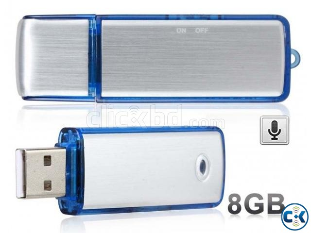 Spy Voice Recorder pendrive 8GB | ClickBD large image 0