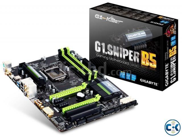 Intel Core i5-4570 Motherboard G1.Sniper B5 | ClickBD large image 0