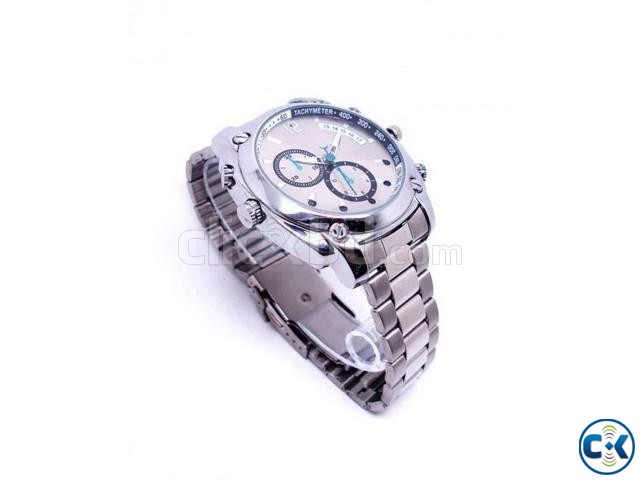 Waterproof SPY NIGHT VISION CAMERA WATCH 1080p | ClickBD large image 0