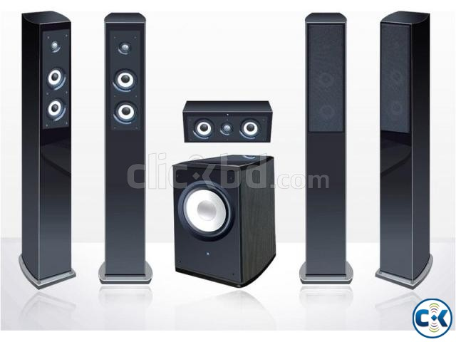Accusound Home Theater 5.1 Sa 100 Rear wirless | ClickBD large image 0