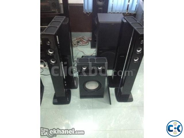 Accusound Home Theater 5.1 Sa 100 Rear wirless | ClickBD large image 2