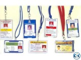 ID Card Print with Casing Ribbon Full Package