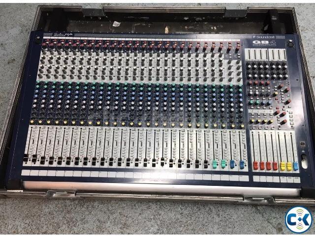 Soundcraft GB-4-24 With flightcase | ClickBD large image 0