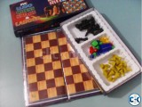 4-in-1 PVC Board Games- 4